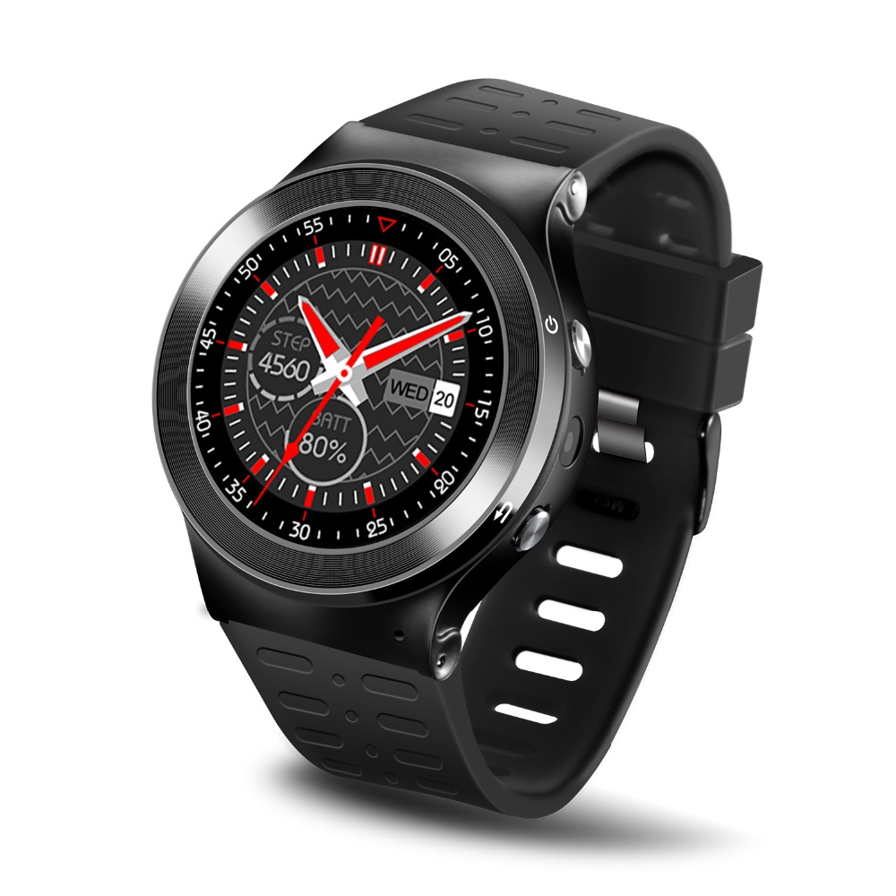 все цены на ZGPAX S99 MTK6580 Quad Core 3G Smart Watch Phone Android 5.1 8GB ROM 5.0 MP Camera GPS WiFi Pedometer Heart Rate smartwatches онлайн