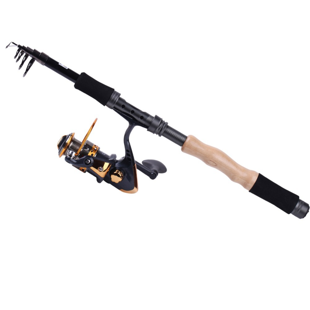 aliexpress : buy telescopic travel top fishing rod with, Fishing Rod