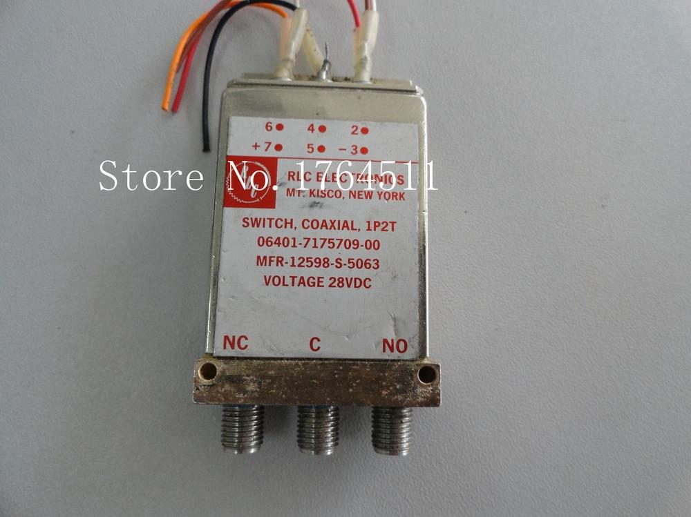 [BELLA] RLC MFR-12598-S-5063 DC-18GHZ SPDT 28V