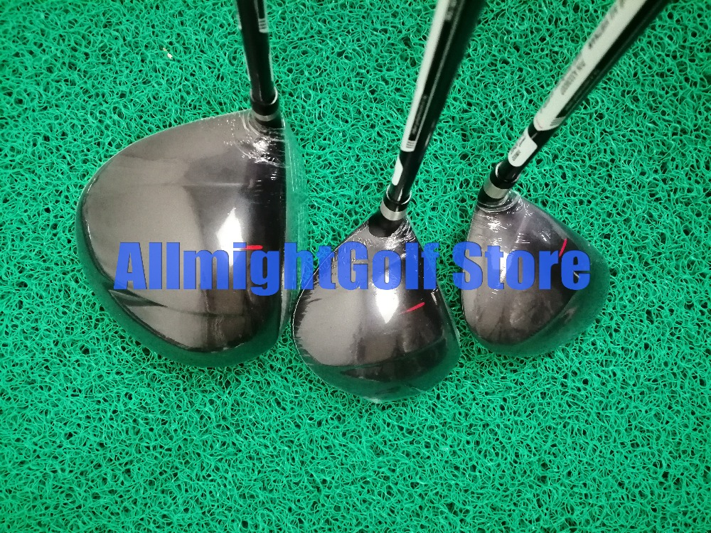 Image 4 - 11pcs Golf club Complete set AeroBur Golf Set For Men Driver+ Fairway+ Iron+ Putter Graphite/Steel Shaft with Caddy Bag-in Golf Clubs from Sports & Entertainment