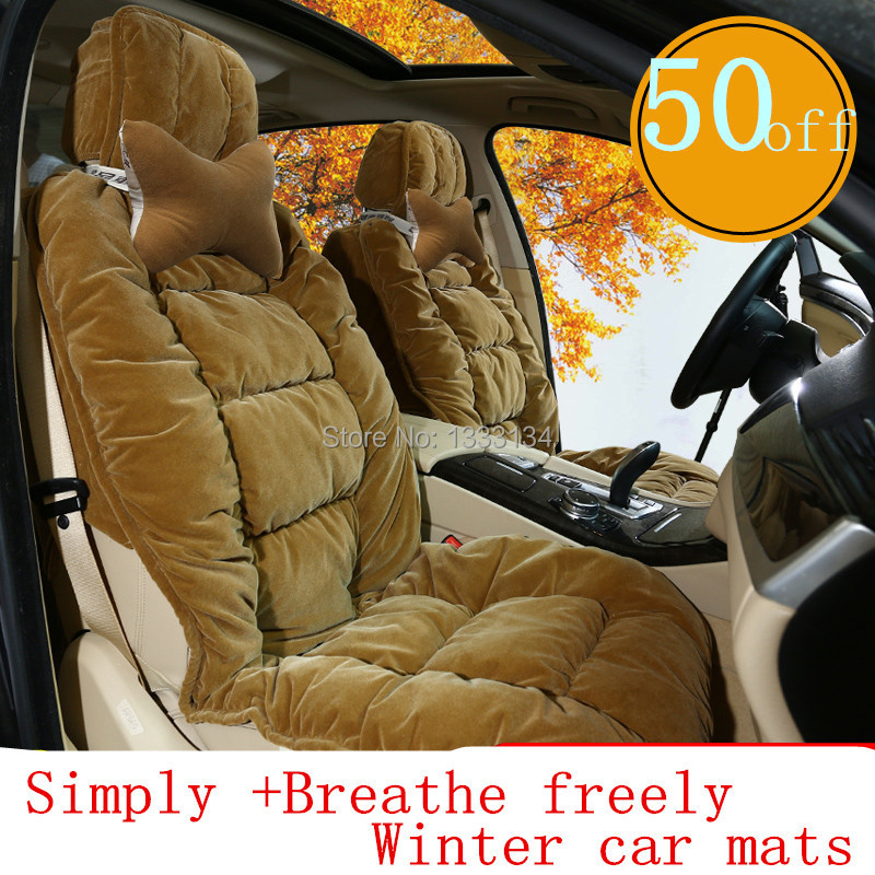5 Seats Set High Quality Winter Thicken Car Seat Cushion Comfortable