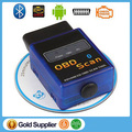 V2.1 obd Universal Auto Diagnostic tool Scanner ELM327 Bluetooth V2.1 OBD/OBD2 Wireless code reader For Android/ Torque/PC