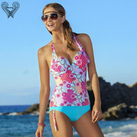 Push Up Bikini Set Two Piece Swimsuit Women Tankini Set Junior Biquini Female Sport Suit Tankini