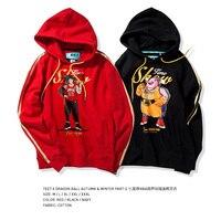2017 New Arrival TEE7 Man Sweatershirt Fashion Dragon Ball nba Hoodie Cotton Printed Blouse Male High Quality Top Size M 3XL