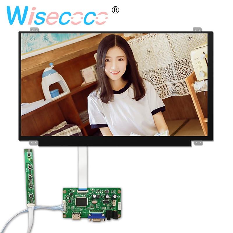 15.6 Inch 1080P LCD Screen 1920*1080 HDMI VGA Edp 30 Pins Driver Board For Raspberry Pi 3 Laptop Lcd Display N156HGA-EAB