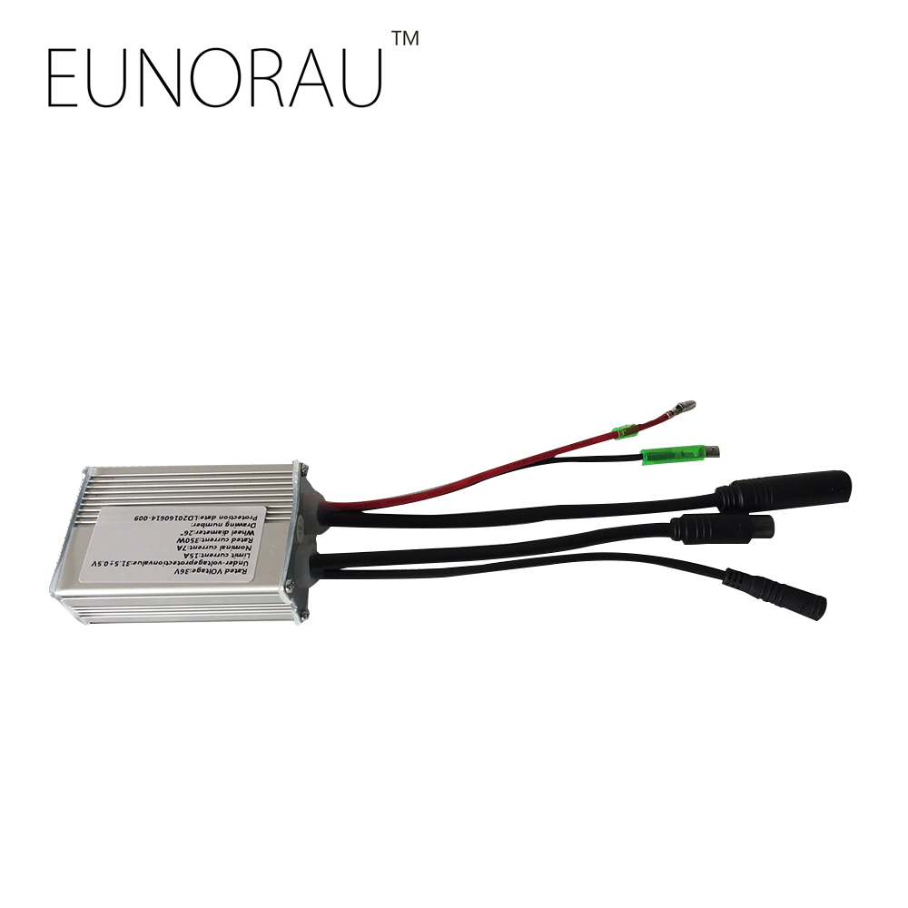 Free shipping 36V15A sin-wave controller for 36V250W EUNORAU front hub motor kit