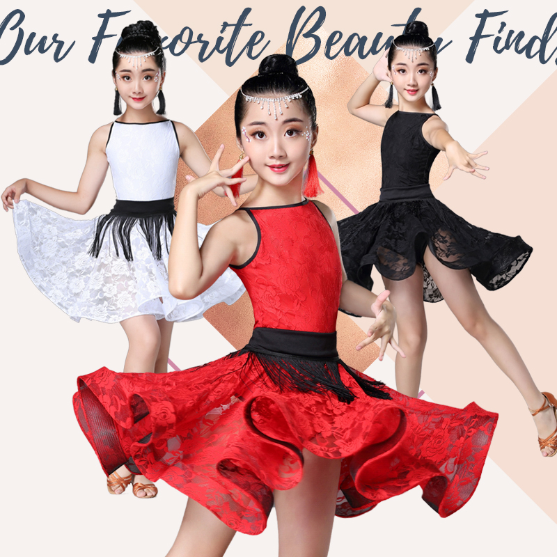 Latin Dance Dress For Girl Ballroom Salsa Tango Dance National Standard Competition Practice Costume Latino Dresses For Dancing
