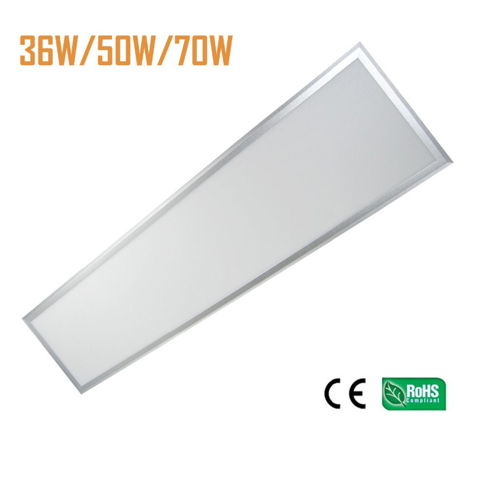 6pcs/lot LED Panel Light 300x1200mm LED Ceiling light 40W 3400LM UL driver 9mm LED Panel light free shipping suspended recessed led panel 600x600 48w smd led pannel light with 3000lm hight power led recessed light waterproof driver free shipping