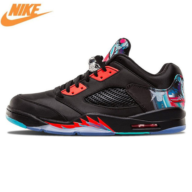 Nike Air Jordan 5 Retro Low CNY Chinois Cerf-Volant Hommes de Basket-Ball