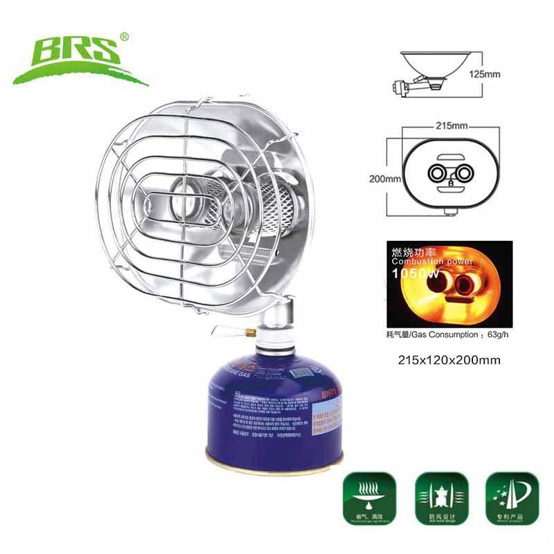 Brs-h22 estufa de gas portátil estufa de calefacción doble cabeza ...