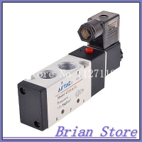 DC 12V 5 Port 2 Position Single Solenoid Valve 4V310 10