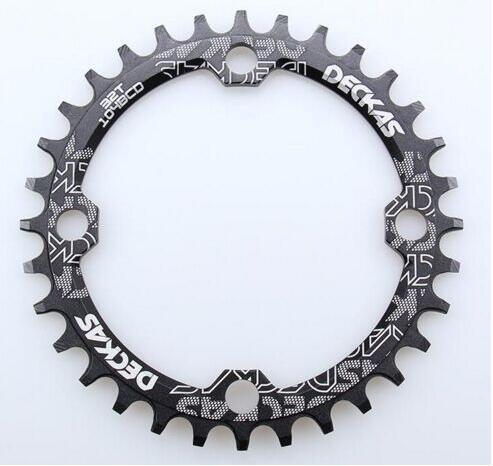 DECKAS 104 Bcd 32/34/36/Bcd104 38 T Montanha Bicicleta Manivela Roda Dentada de Alumínio Coroa Oca Reparação adequado 11 10 9 S S s