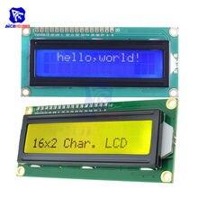 ЖК-дисплей 1602 diymore с подсветкой, Модуль платы ЖК-дисплея 16*2 символа 1602 для Arduino Robot 5 В