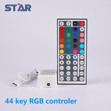 12V 44Key RGB LED Controller IR Remote Controller for SMD 3528 5050 RGB LED SMD Strip Lights