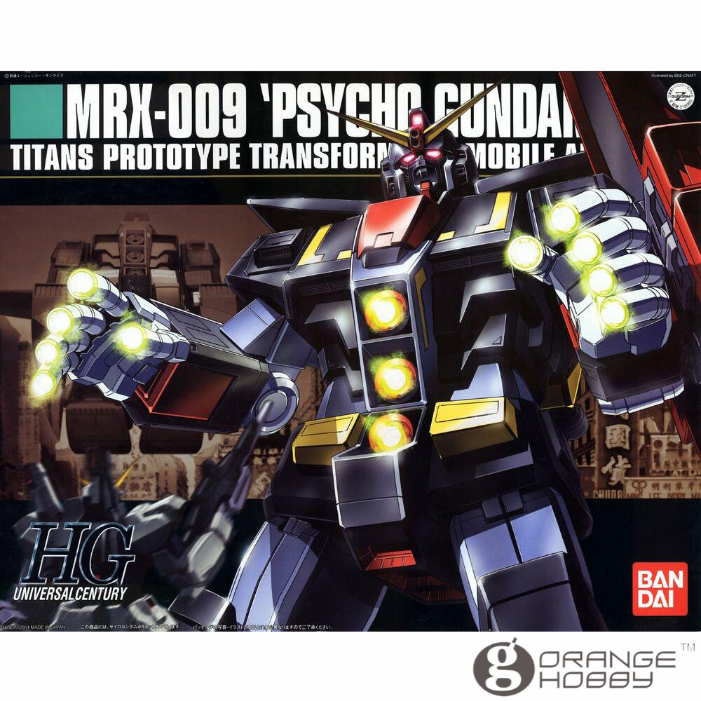OHS Bandai HGUC 049 1/144 MRX-009 Psycho Gundam Mobile Suit Assembly Model Kits ohs bandai sw 1 6 yoda assembly model kits