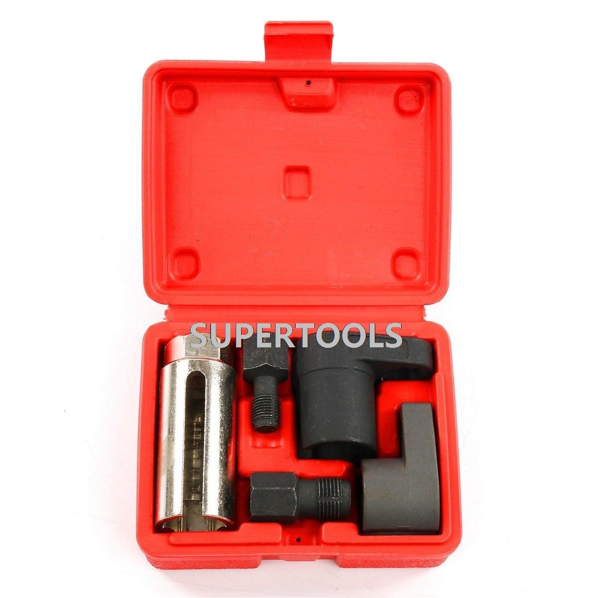 8ac3d9f464ae Auto Oxygen Sensor Socket Spark Plug Damaged Thread Repair Chaser Garage  Tools For VW Audi BMW