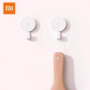 Image 3 - Xiaomi Mijia Little ตะขอกาว Strong ห้องน้ำห้องนอนห้องครัว Hooks 3 กก. โหลดสูงสุดใหม่มาใหม่สำหรับ xiaomi ชีวิต