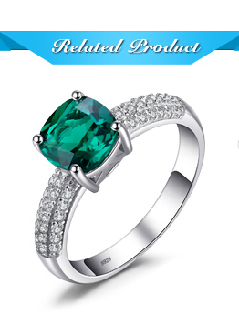 HTB17wVDi3fH8KJjy1zcq6ATzpXa3 Jpalace 3ct Simulated Nano Emerald Pendant Necklace 925 Sterling Silver Gemstones Choker Statement Necklace Women Without Chain