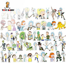 35-110pcs/lot Waterproof Stickers rick and morty drama doodle Graffiti decal toys For Moto car suitcase laptop Notebook sticker(China)
