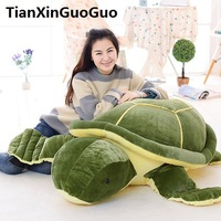 stuffed plushtoy huge 150cm green tortoise plush toy cartoon turtle soft doll sleeping pillow birthday gift s0874