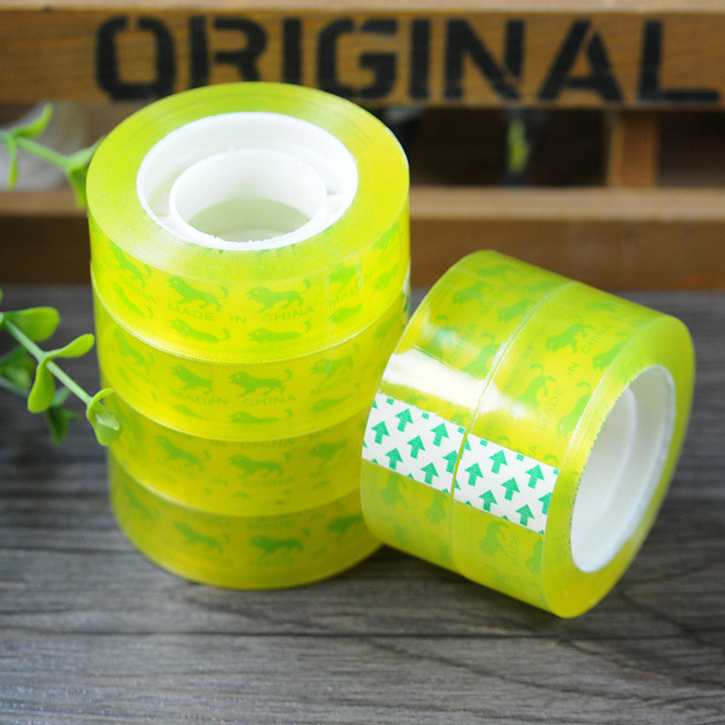 2020 New Office Stationery Tape Selling High Quality Packaging Tape Scotland Transparent Packaging Repair Patch Tape 10mm* 30m