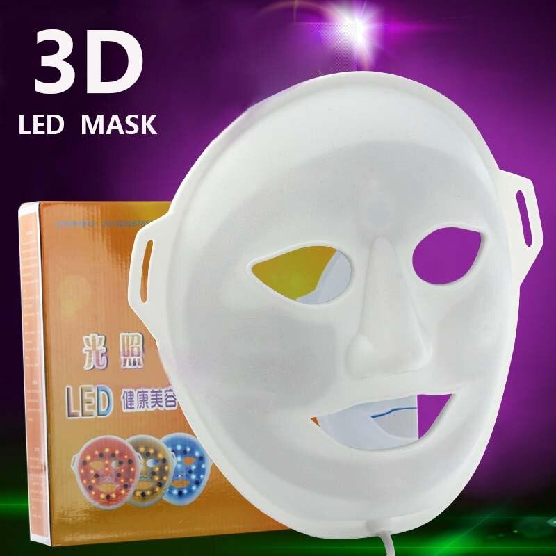 2017 NEW LED 3 color photon facial mask skin rejuvenation therapy reduce wrinkles anti-aging led photon facial mask PDT2017 NEW LED 3 color photon facial mask skin rejuvenation therapy reduce wrinkles anti-aging led photon facial mask PDT
