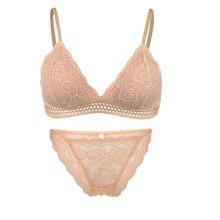 Lace bra sexy underwear bra set