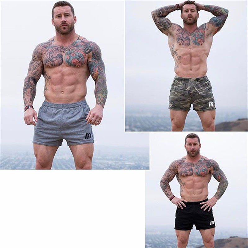 Camouflage Shorts low waist men casual Trunks  5