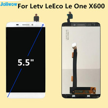 For Letv Le1 X600 LCD Display+Touch Screen Original Digitizer Glass Panel For Le  one X600 1920X1080 FHD 5.5' replace Cell Phone new s7 front panel touch glass digitizer screen with lcd display replace for elephone s7 cell phone free shipping