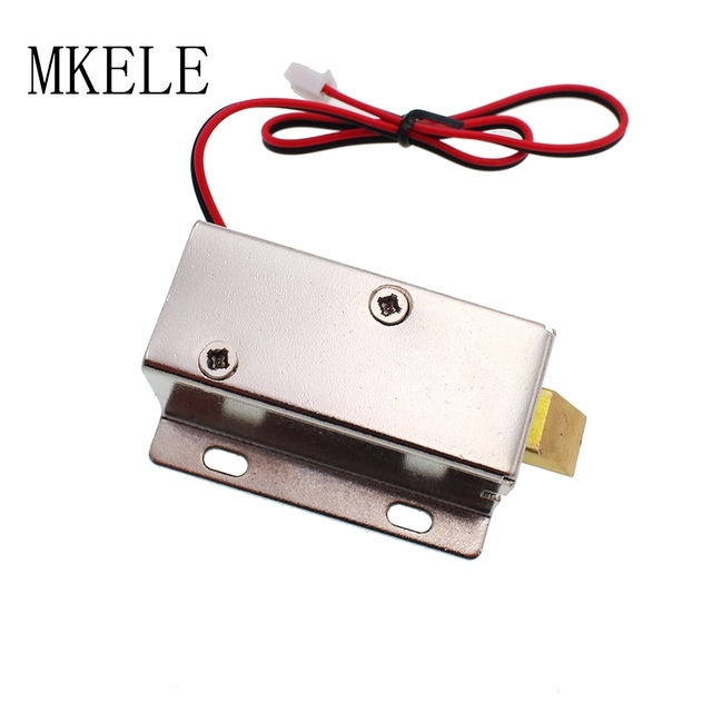 Small Sized Electric Lock Electric Insert Lock For Locking Electric Cabinet  Drawer Small Electronics Lock