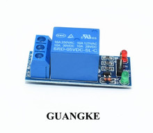 1PCS 1 Channel 5V Relay Module Low level for SCM Household Appliance Control   For Arduino