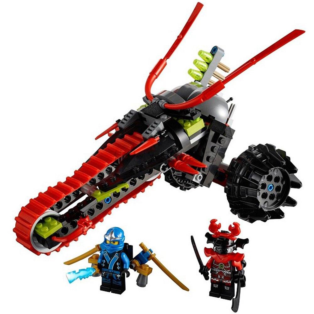 Ninjago Kai Jay Zane Cole Lloyd Carmadon With Tornado Motorcycle Ninjago figures Building Blocks Set Toys