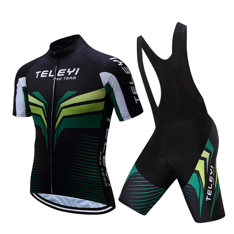 2020 cycle clothing sets men Short sleeve road bike clothes kit wear Summer bicycle jersey suit dress Cycling mallot bib pants Cycling Sets     - title=