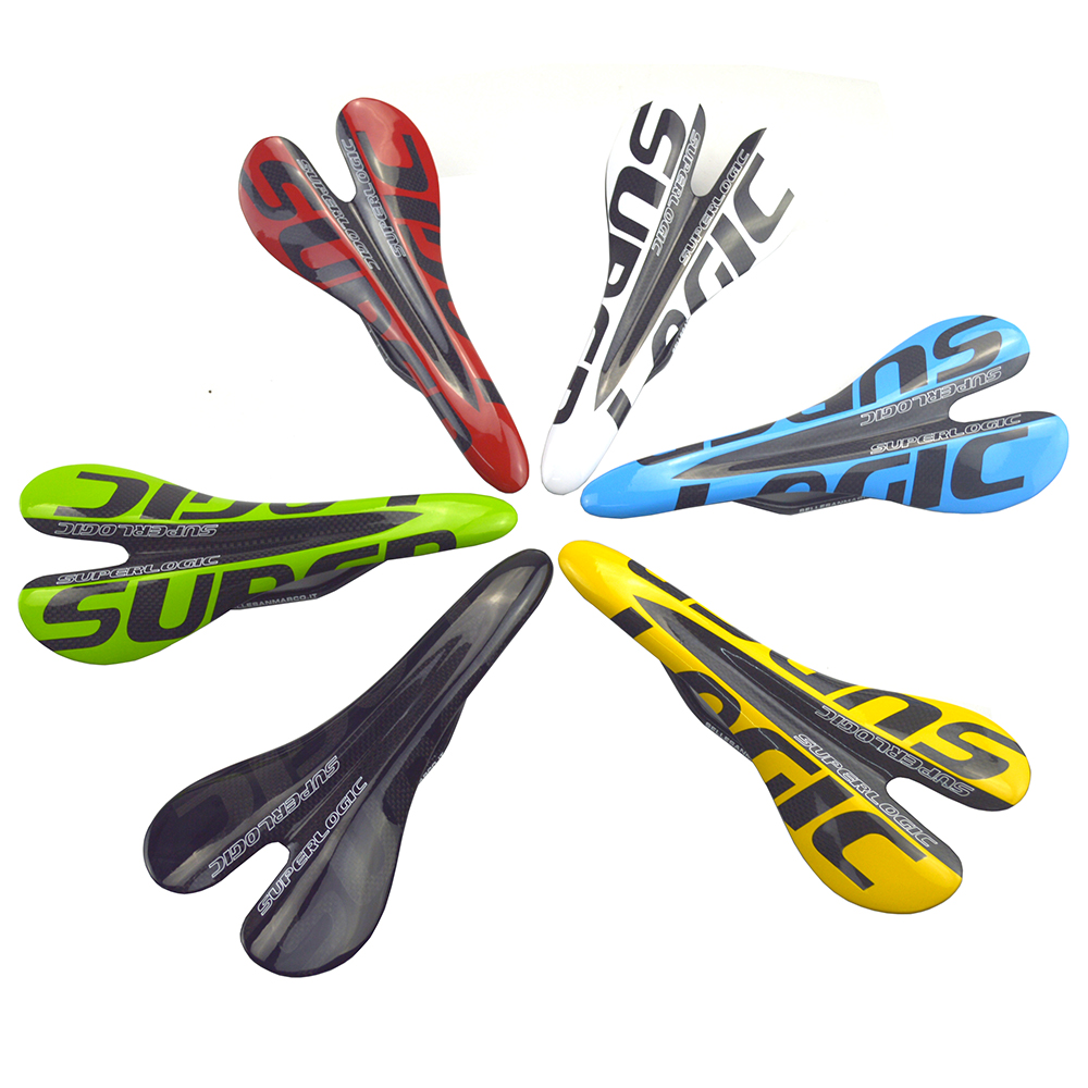 bicycle glossy carbon saddle bike cushion 3k full carbon fibre cycling MTB road bike seat bicyle parts 95g full carbon fiber bicycle saddle road mtb bike seat bicycle parts 3k matte finish 27 5 14 3cm cycling parts cushion
