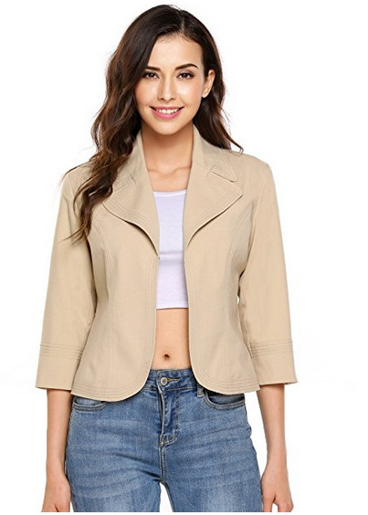 2018 new spring Mini suit jacket