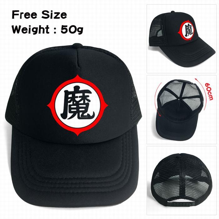 10 pcs/lot Anime dragon ball evil magic logo print Fashion cap Hats Adjustable Baseball Cap toy gifts