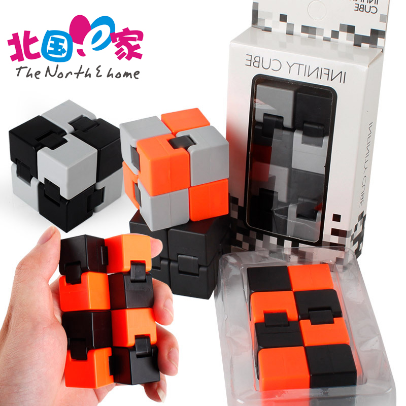 12 Style New Original Infinite For Infinity Cube 2 Cube Anti stress Cuby Neo Spiner Finger spinners Hand Out Door Magic Cube Toy