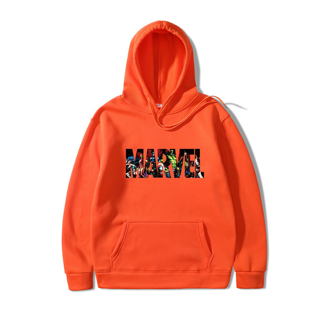 2019 New Marvel Hoodies Men Brand Suprem Japanese Hooded Sweatshirt Mens Hoodie Tracksuit Sweat Coat Casual Sportswear