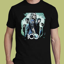 Funny T Shirts  Men's Short Sleeve Printed O-Neck  The 100 Action Drama Dystopian Science fiction S M L XL 2XL 3XL T-shirt tee