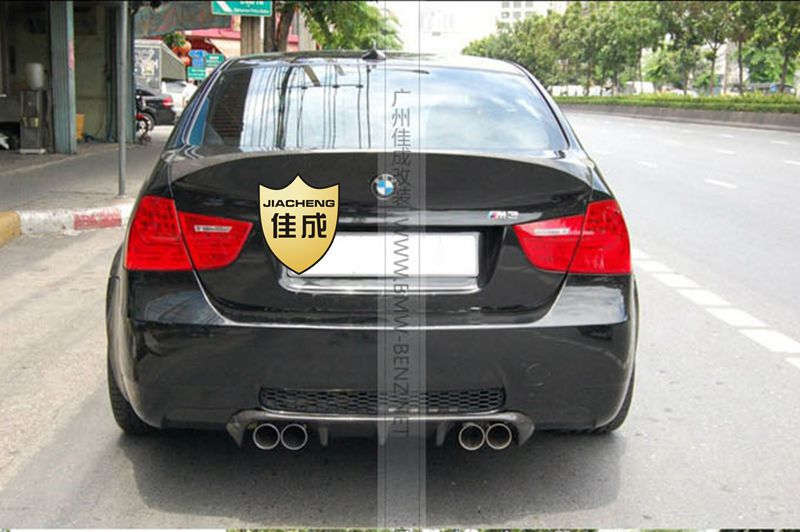 Top quality E90 CSL style carbon fiber rear spoiler car trunk lip auto diffuser boot wing spoiler for BMW E90 05 08 car styling