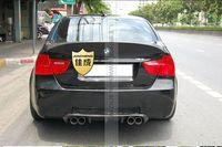 Top quality E90 CSL style carbon fiber rear spoiler car trunk lip auto diffuser boot wing spoiler for BMW E90 05 08 car styling