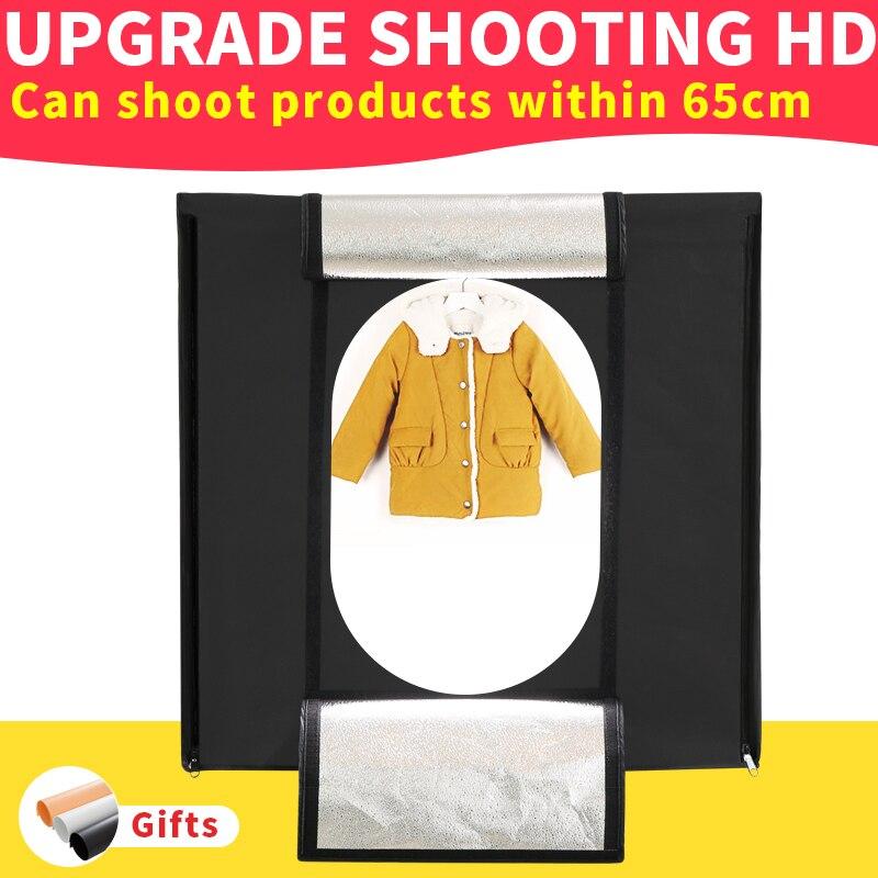 80*80*80 cm 5500 k Pliant Led boîte à Lumière Portable Lightbox Dimmable Photo BOÎTE kit pour le Tir vêtements