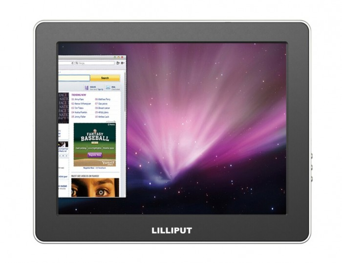 Lilliput 9.7 UM-900 Color TFT LCD USB Monitor With Mini HDMI,Mini USB,USB Input,Most Suitable Display For VCD, DVD