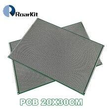 5PCS/LOT 20x30 cm PROTOTYPE PCB 2 layer 20*30 panel Universal Board double side