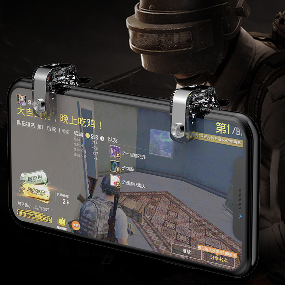 Assistant Tool Trigger Shooter Gaming Trigger Aim Key Controller Button Sensitive Accurate Universal Mobile Gaming For PUBG