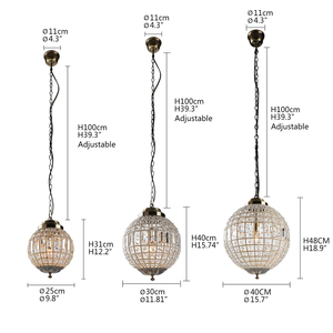Image 3 - Europe Retro Vintage Charming Royal Empire Style Big Led Crystal Modern Chandelier Lamp Lustres Lights E14 For Hotel Living Room