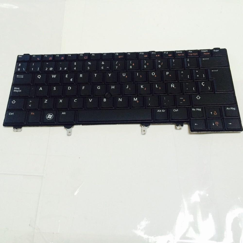 Nouveau clavier pc portable pour Dell Latitude E5420 E5420m E5430 E6440 E6220 SP/ESPAGNOL mise en page