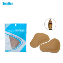 6pair High-heeled Shoes Forefoot Pad Leather Cushion Pad Orthotic Insole Half Yard Pad Foot Care Tools Metatarsal Toe Z28006