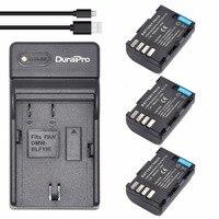 3pc DMW BLF19 DMW BLF19 BLF19 Rechargeable Li Ion Battery USB Charger For Panasonic Lumix DMC