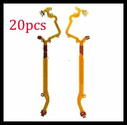 20pcs Free Shipping New Lens Aperture Flex Cable For Canon S100 S100v Repair Part
